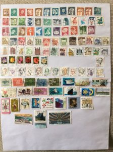 German 100+ stamps - Lot 6