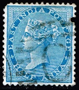 INDIA STAMP Queen Victoria  1/2 ANNA USED STAMP