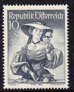 Austria 1948-51 Provincial Costumes 10s grey unmounted mi...