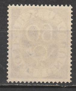 WEST GERMANY 1951 POSTHORN 60PF MNH **