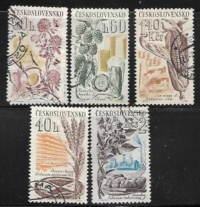 CZECHOSLOVAKIA, 1063-1068, U, 1961 SET