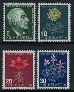 Switzerland #B166-9* NH  CV $3.50