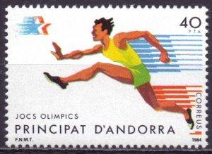 Andorra. 1984. 177. Running sports. MNH.