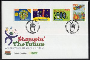 Ireland 1242-1245 Stampin the Future U/A FDC