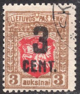 LITHUANIA SCOTT 121