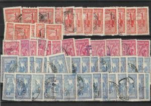 bolivia 1948 air stamps  ref 10831