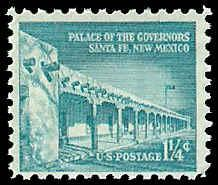 PCBstamps   US #1031A .0125c Palace of the Governors, 1960, MNH, (PCB-29)