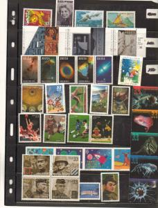2000 U.S. YEAR SET ALL MINT N.H 89 STAMPS