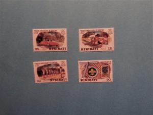 Kiribati - 410-13, MNH Set. Scouting Year. SCV - $1.20