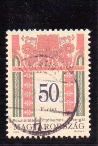 Hungary  Scott#  3474  Used