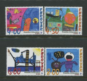 STAMP STATION PERTH Faroe Is.#379-382 Pictorial Definitive  MNH 2000 CV$8.00