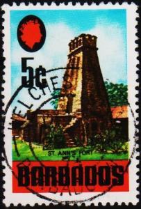 Barbados. 1970 5c S.G.403 Fine Used