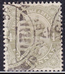 India 128 USED 1926 King George V 'Postage & Revenue'
