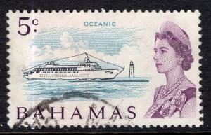 Bahamas 256 Ship Used VF
