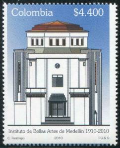 HERRICKSTAMP COLOMBIA Sc.# 1344 Medillin Bellas Art Institute