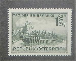 Austria B294. 1954 1S+25g Stamp Day, NH