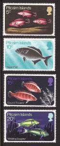 Pitcairn Islands 114-117 Mint VF NH