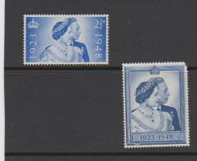 GREAT BRITAIN #267-268 STAMPS MNH  LOT#403
