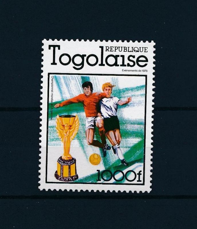 [60747] Togo 1978 World Cup Soccer Football Argentina MNH