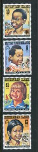 Virgin Island MNH 356-9 International Year Of The Child 1979