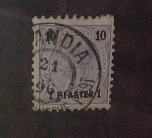 AUSTRIA TURKEY STAMP #23 CRETE CANDIA