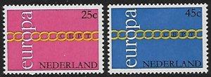 Netherlands - # 488-489 - Europa Issue - MNH....(G12)