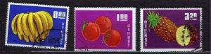 J22938 JLstamps 1964 taiwan china part of set used #1414-6 fruits