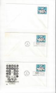 United Nations U4 Postal Stationery,  Mint, Artcraft & No Cachet