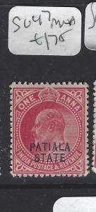 INDIA  PATIALA  (P2410B)  KE  1A   SG 47   MNH