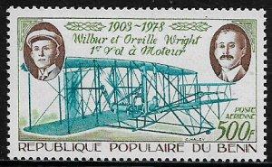 Benin #C287 MNH Stamp - Wright Brothers - Plane