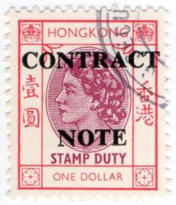 (I.B) Hong Kong Revenue : Contract Note $1