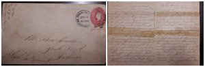 O) 1900 CIRCA- PHILIPPINES - USS OCCUPATION, COMPLETE LETTER, WASHINGTON 2c POST