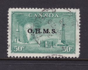 Canada the 1949 Official 50c good used