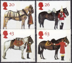 Great Britain #1763-6 MNH CV $3.60 (Z5033)