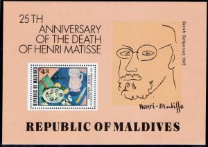 MALDIVE ISLANDS SCOTT 810