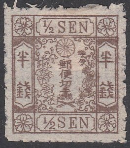 JAPAN An old forgery of a classic stamp.....................................C402