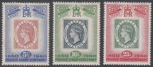 St. Lucia 176-178 MH CV $0.85