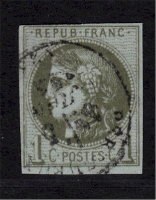 38, F/VF+, Used, Bordeaux Series, City Date Cancel, 100% ...