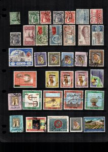 Kuwait  34  diff used and mint lot collection