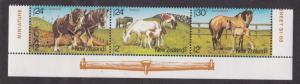 New Zealand # B118-120, Farm Animals, NH, 1/2 Cat.