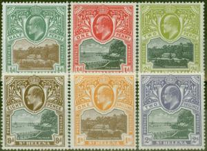 St Helena 1903 set of 6 SG55-60 Fine MNH