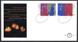 Netherlands 1995  FDC 342 cabaret