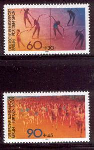 GERMANY BERLIN 9NB180-1 MNH SPORTS