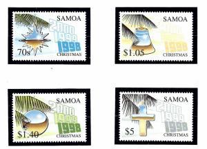 Samoa 963-66 MNH 1998 Christmas