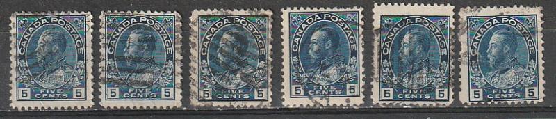 #111 Canada Used Admirals