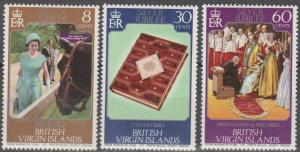 Virgin Is #317-9  MNH F-VF  (S9049)