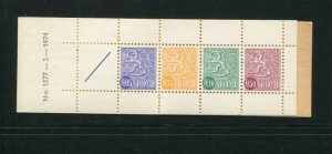 Finland #461b Booklet MNH