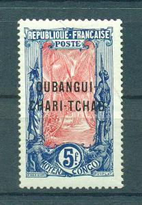 Ubangi-Shari sc# 22 mh cat value $42.50
