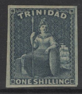 TRINIDAD SG29 1859 1/= INDIGO MTD MINT