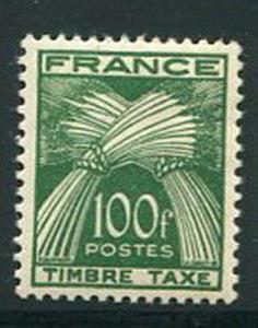 France #J92 Mint